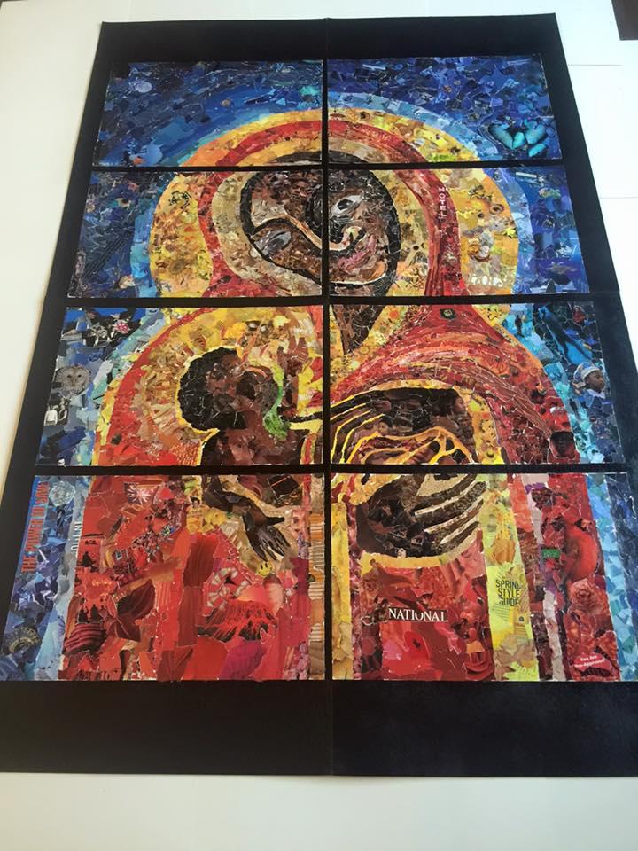 Grace mosaic 1