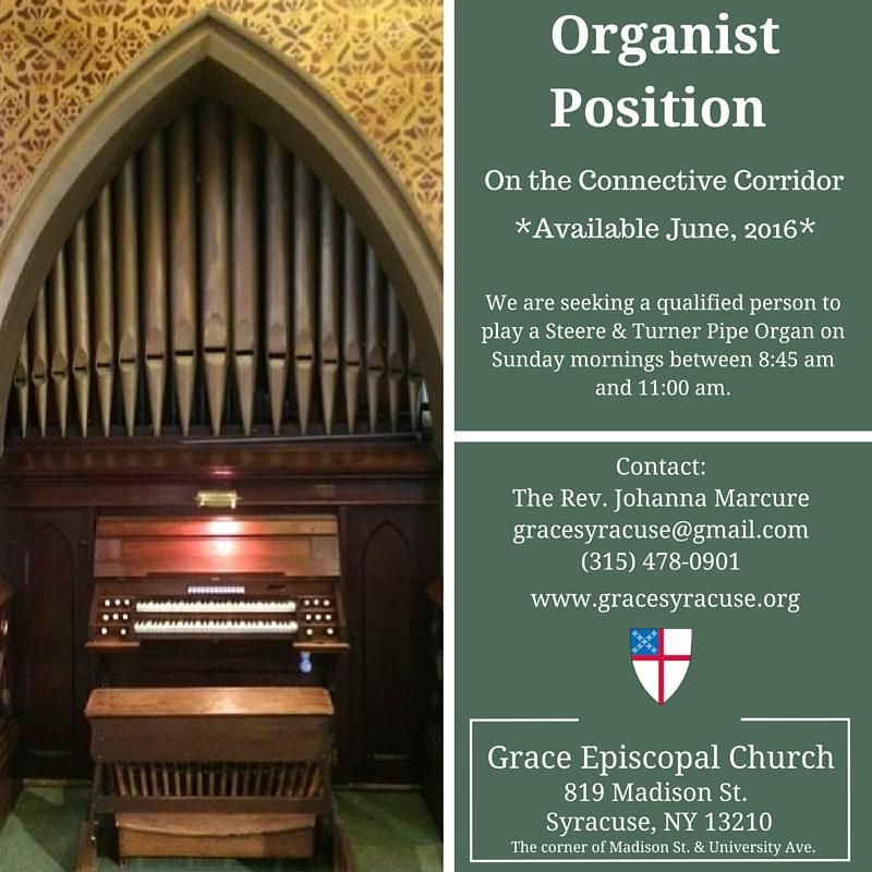 Grace Syracuse Organist Position